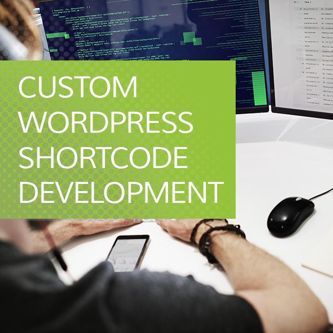 Custom Wordpress Shortcode development