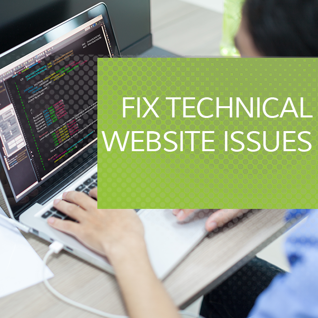 Fix Technical Website Issues