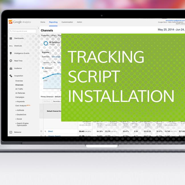Tracking Script Installation