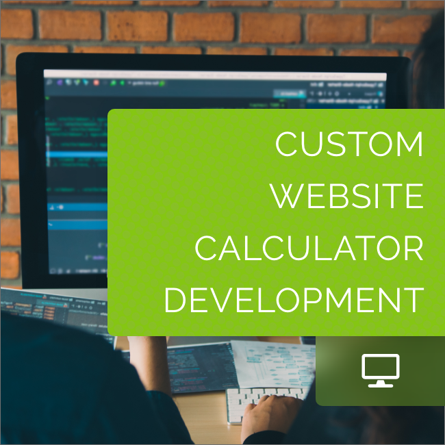 Custom Website Calculator Development