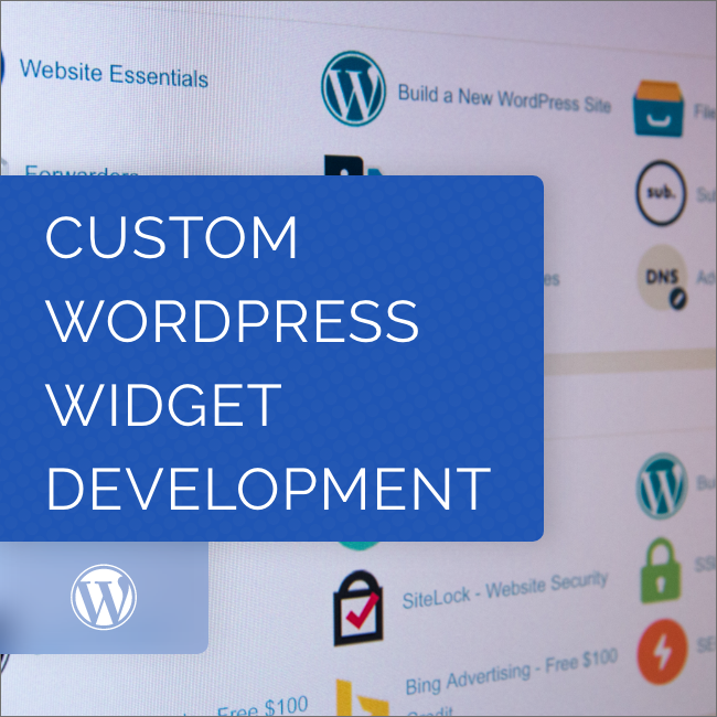 Custom WordPress Widget Development