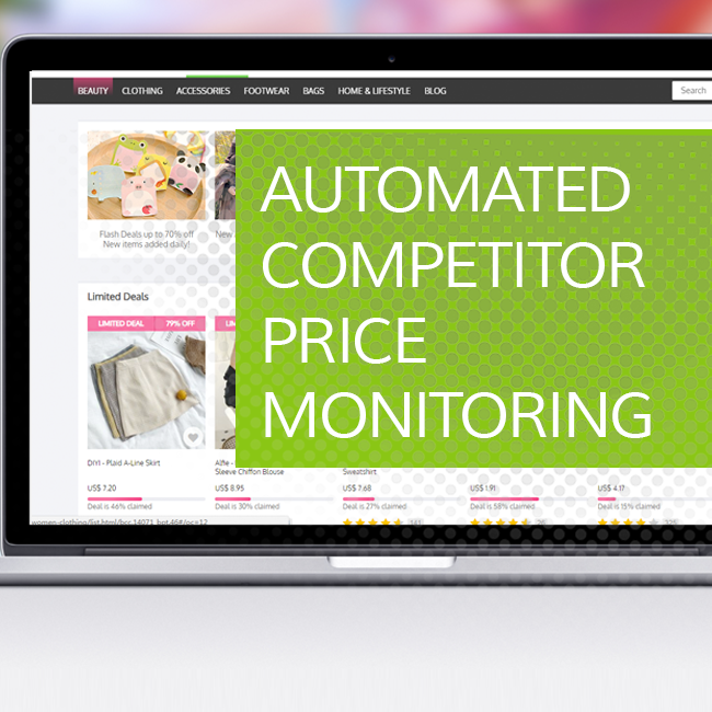 Automated Competitor Price Monitoring