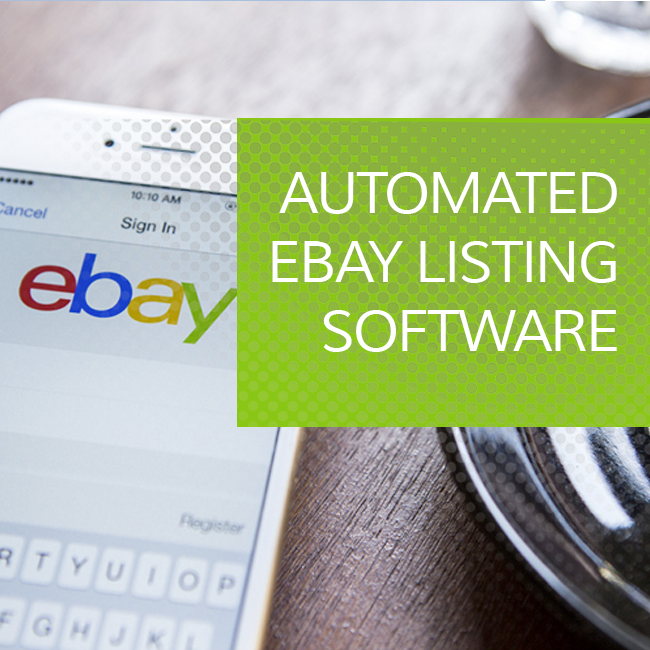 Automated Ebay Listing Software