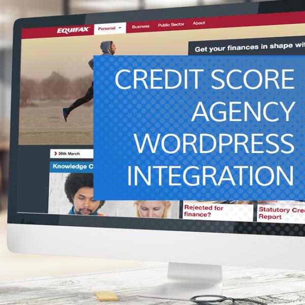 Credit Score Agency WordPress Plugin Integration