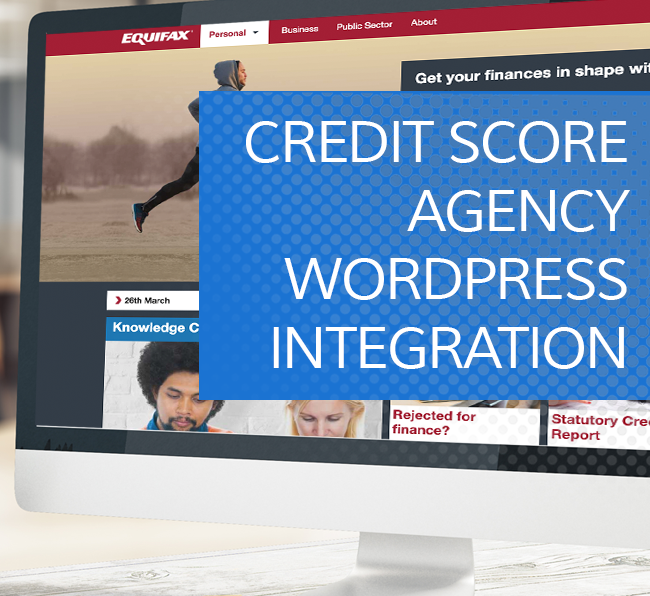 Credit Score Agency WordPress Plugin Integration
