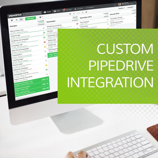 Custom Pipedrive Integration