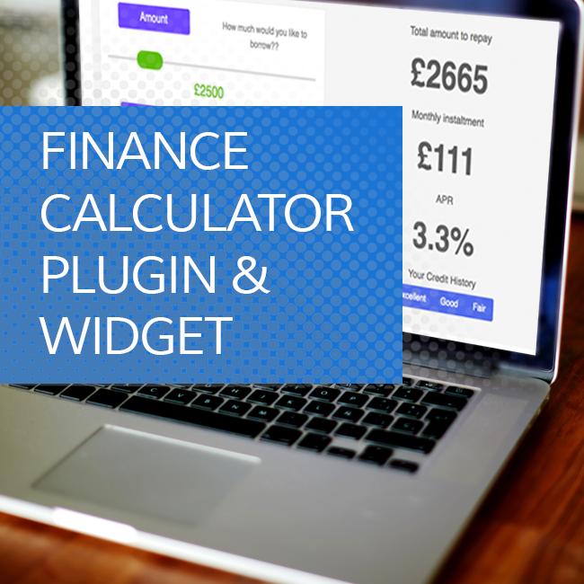 Finance Calculator Plugin and Widget Development