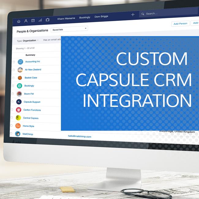 Capsule CRM Integration
